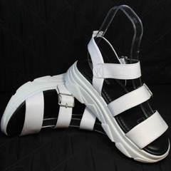 Спортивные сандали женские Evromoda 3078-107 Sport White