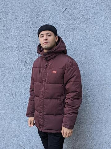 Куртка Globe Ignite Puffer Jacket - Oxblood