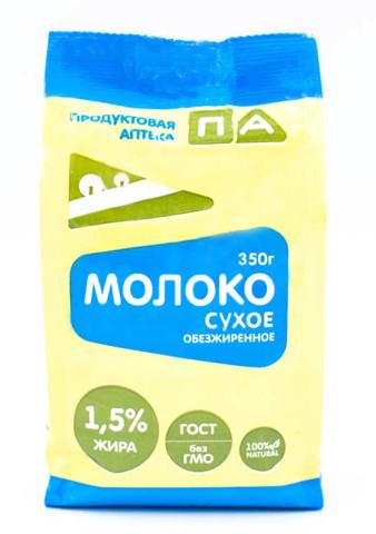 Молоко сухое обезжиренное 1,5%