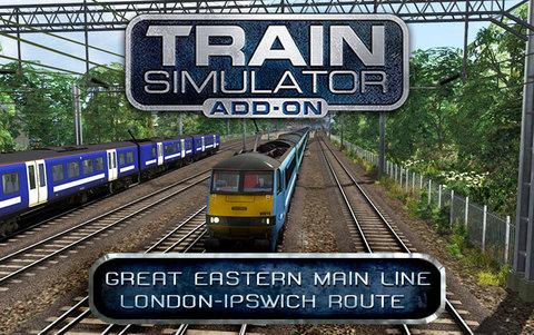 Train Simulator: Great Eastern Main Line London-Ipswich Route Add-On (для ПК, цифровой ключ)