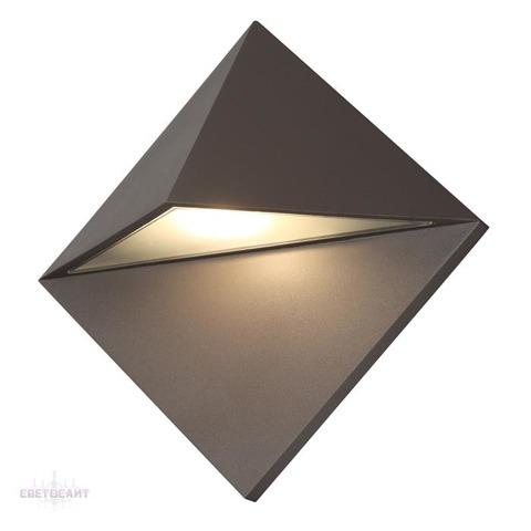 Уличный настенный светильник 370587 серии TESTA