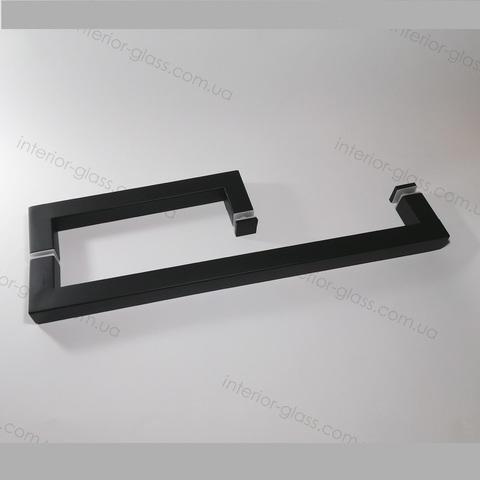 Ручка душевая под полотенце HDL-623 BLK чёрная матовая