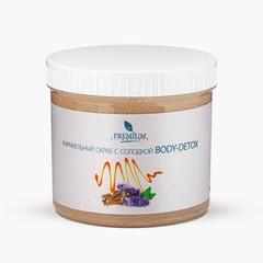 Карамельный скраб с солодкой Body-detox (500 мл)