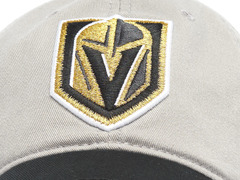 Бейсболка NHL Vegas Golden Knights серая