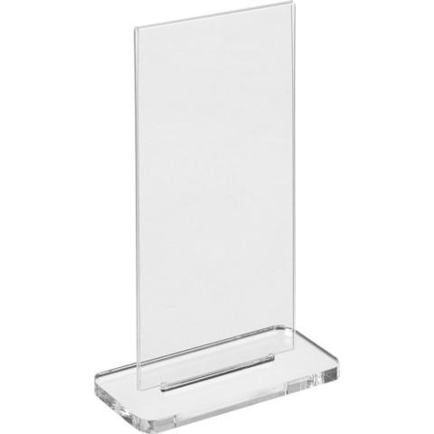 Подставка настольная для рекламных материалов Attache 1/3 А4 двухсторонняя разборная