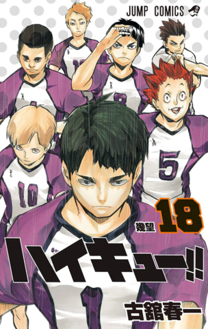 Haikyuu!! vol.18 (Japan Edition)