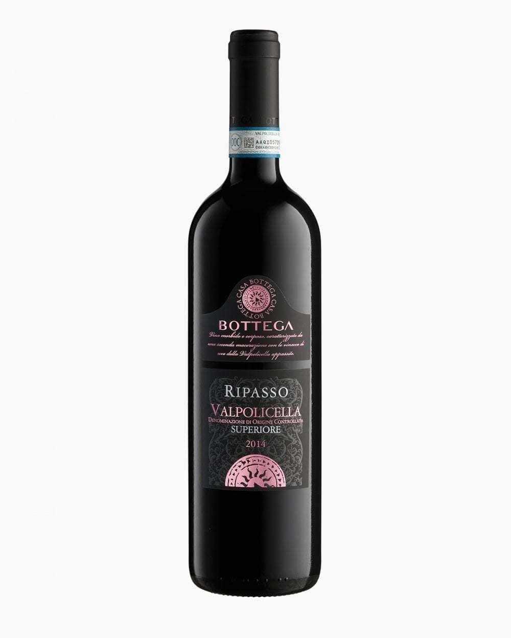 Вино Красное Cухое Bottega Вальполичелла Рипассо Супериоре 14%, 0,75 л.