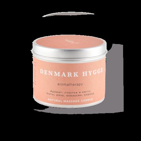 SmoRodina Натуральная свеча для аромамассажа «Дания», 200 мл