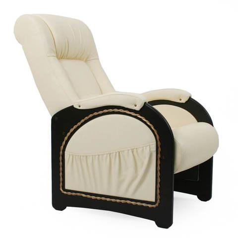Кресло для отдыха, Модель 43 экокожа с лозой