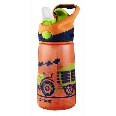 Бутылочка детская Contigo Striker (0,42 литра), оранжевая