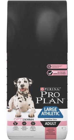 Сухой корм Purina Pro Plan для собак крупных пород с атлетическим телосложением с чувствительным пищеварением, ягненок