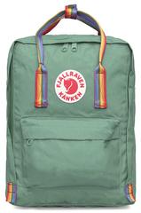 Рюкзак Fjallraven Kanken Classic Rainbow Бледно-зеленый