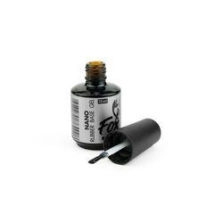 Каучуковое базовое покрытие NANO (Rubber base gel NANO), 15 ml