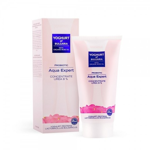 Аква эксперт - концентрат с пробиотиком Aqua Expert Concentrate UREA 8% Yoghurt of Bulgaria, 150 мл.
