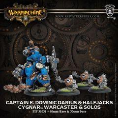 Warcaster Captain E. Dominic Darius BOX