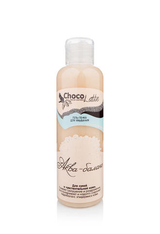 Гель-ПЕНКА для умывания АКВА-БАЛАНС для сухой и чувствительной кожи, 100ml TM ChocoLatte