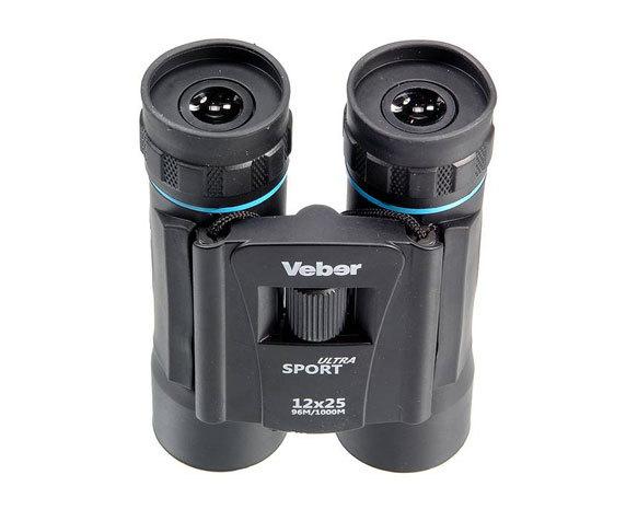 Бинокль Veber Sport БН 12x25 silber / blue - фото 2