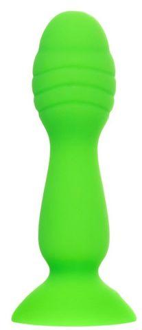 Зеленая анальная втулка Terg - 10 см.