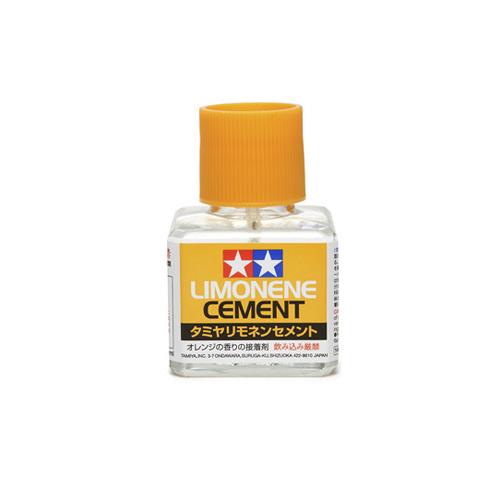 Клеи Tamiya Cement Limonene Клей с запахом лимона, с кисточкой 40 мл 87113_1.jpg