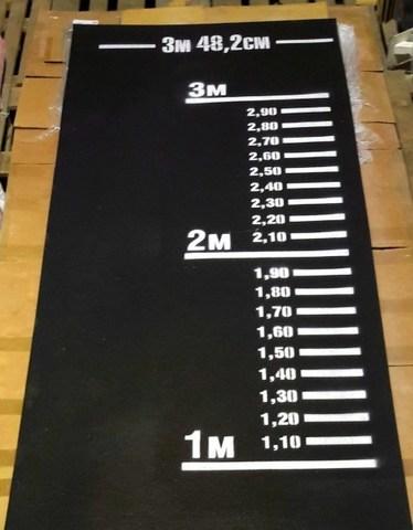 Дорожка (разметка) для прыжков в длину с места, для сдачи норматива по прыжкам с места