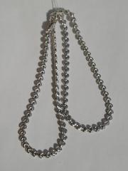 Сердечко (серебряная цепочка)