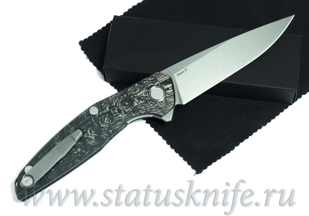 Нож Широгоров Custom 111 Vanax37 CF 3D MRBS - фотография