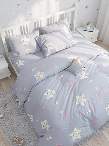 Простынь  -Спящие звезды- 150х215 см 1,5-спальная