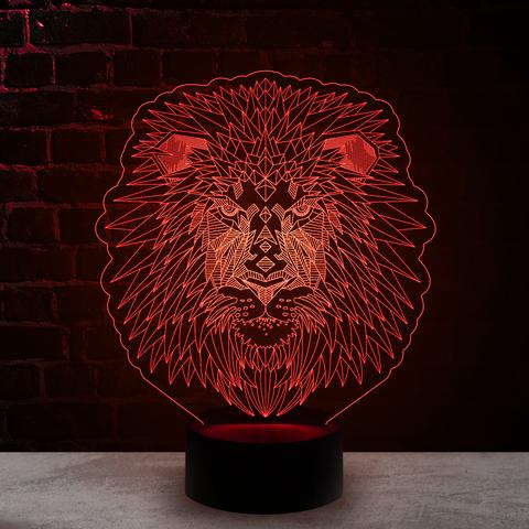 Лев полигоны