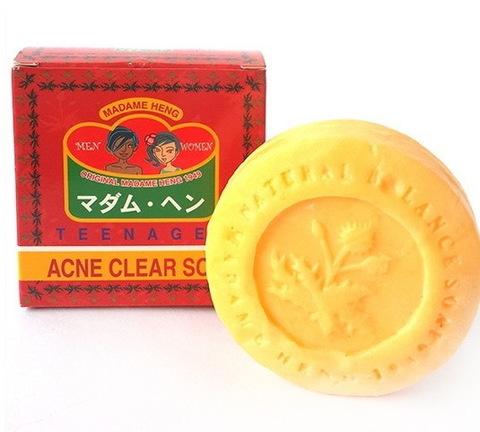 Мыло для проблемной кожи лица Madame Heng Acne clear soap. 150 гр.