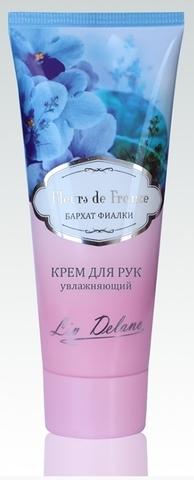 Liv-delano FLEURS DE FRANCE Крем для рук увлажняющий Бархат фиалки 75г