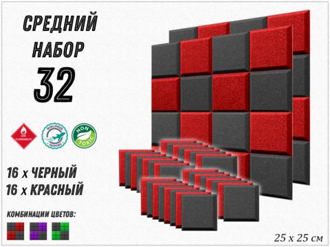 GRID 250  red/black  32  pcs  БЕСПЛАТНАЯ ДОСТАВКА