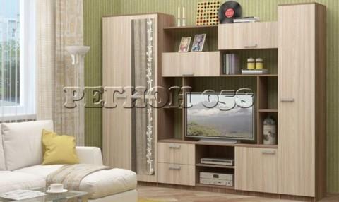 Гостиная Флора-3 ЛДСП