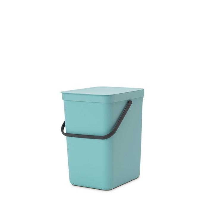 Встраиваемое мусорное ведро Sort & Go (25 л), Мятный, арт. 129902 - фото 1