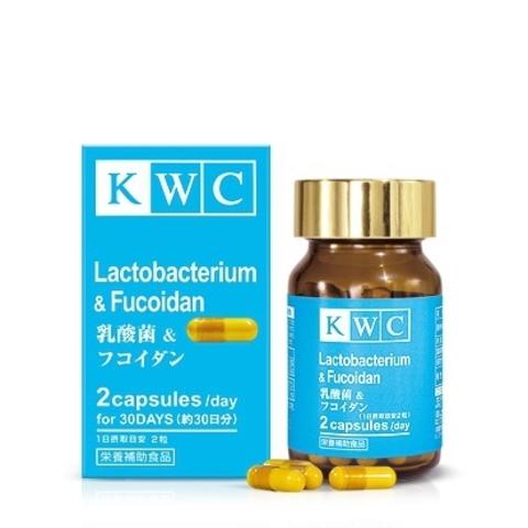 Лактобактерии с фукоиданом, KWC, 60 капсул