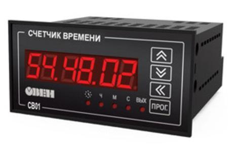 Счетчик времени СВ01-220.Щ2.Р Овен