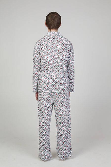 Выкройка стильной мужской пижамы