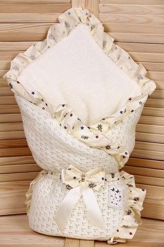 Зимний конверт-одеяло Lace айвори