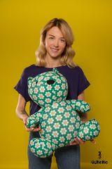 Подушка-игрушка антистресс Gekoko «Сотовый медведь» 1