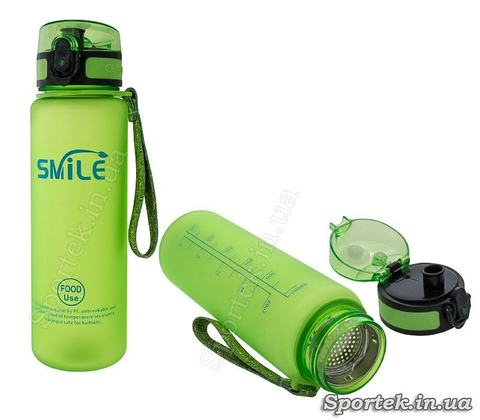 Фляга велосипедна та туристична Smile (0.5 л)