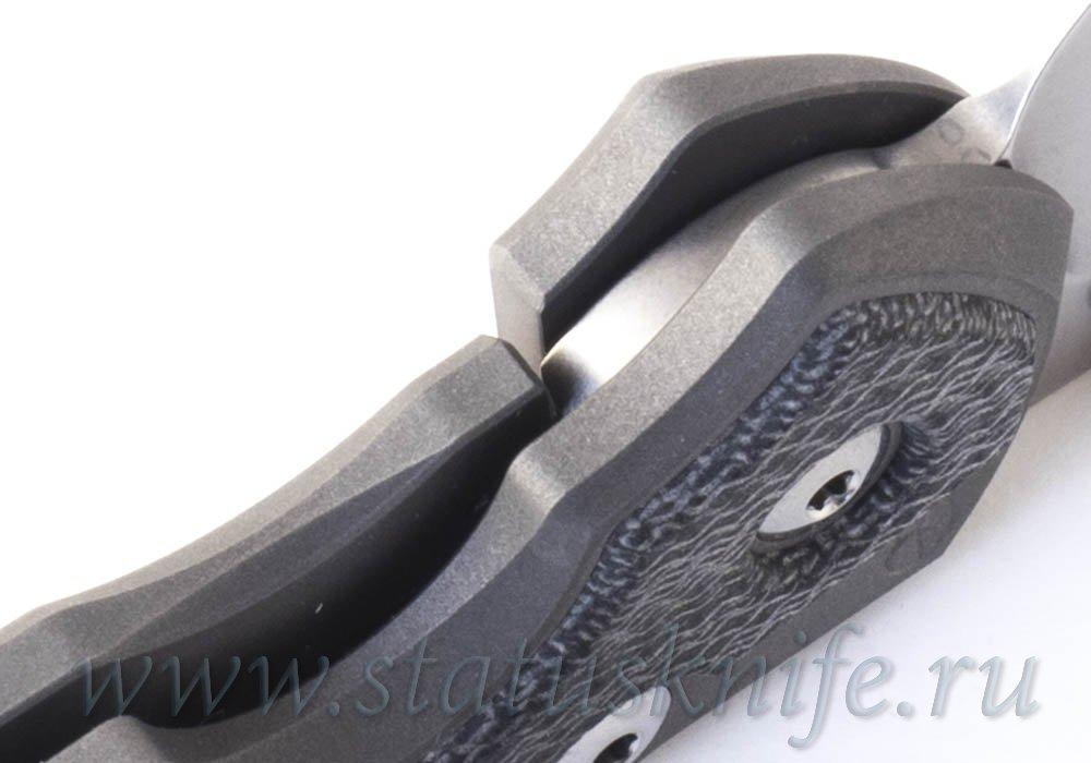 Нож Chris Reeve Sebenza Large 31 black micarta - фотография