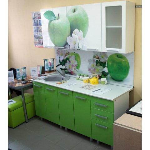 Кухонный гарнитур Яблоко 1,8 м
