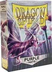 Dragon Shield - Фиолетовые матовые протекторы 60 штук