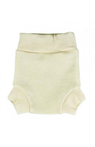 Однослойные пеленальные штанишки (L, Экрю) 10-18 кг