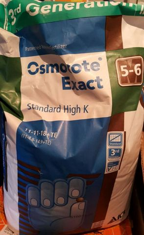 Осмокот (Osmocote) Exact Standart  High K (11+11+18+2MgO+Micro) 5-6 мес