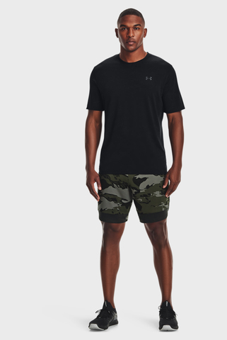 Мужские зеленые шорты UA Train Stretch Camo Sts-GRN Under Armour