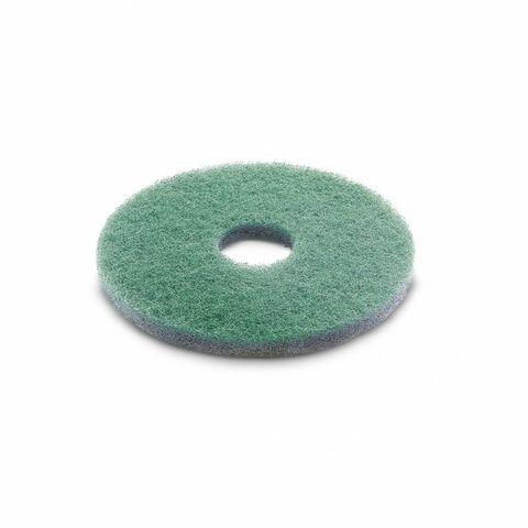 Алмазный пад, Karcher тонкий, зеленый, 385 mm