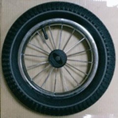 Колесо с металлическими спицами, помповое D12