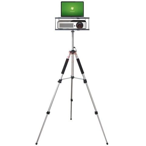 Столик для проектора и ноутбука со штативом 2 этажа