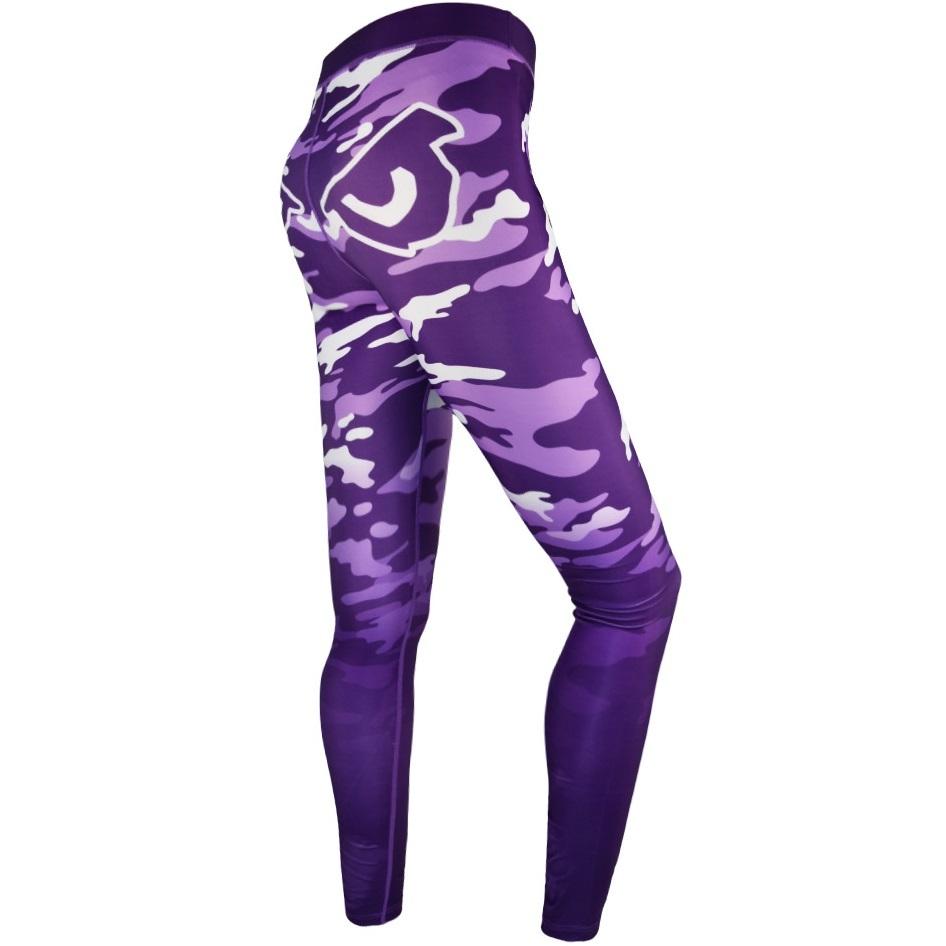 Женские лосины Компрессионные штаны женские Bad Boy Eyes Purpure/Camo 1.jpg