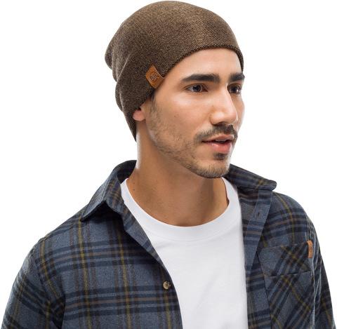 Вязаная шапка Buff Hat Knitted  Colt Bark фото 2